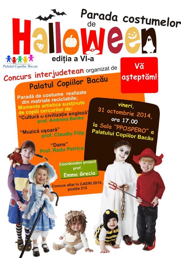 Spirit de Halloween la Palatul Copiilor Bacău